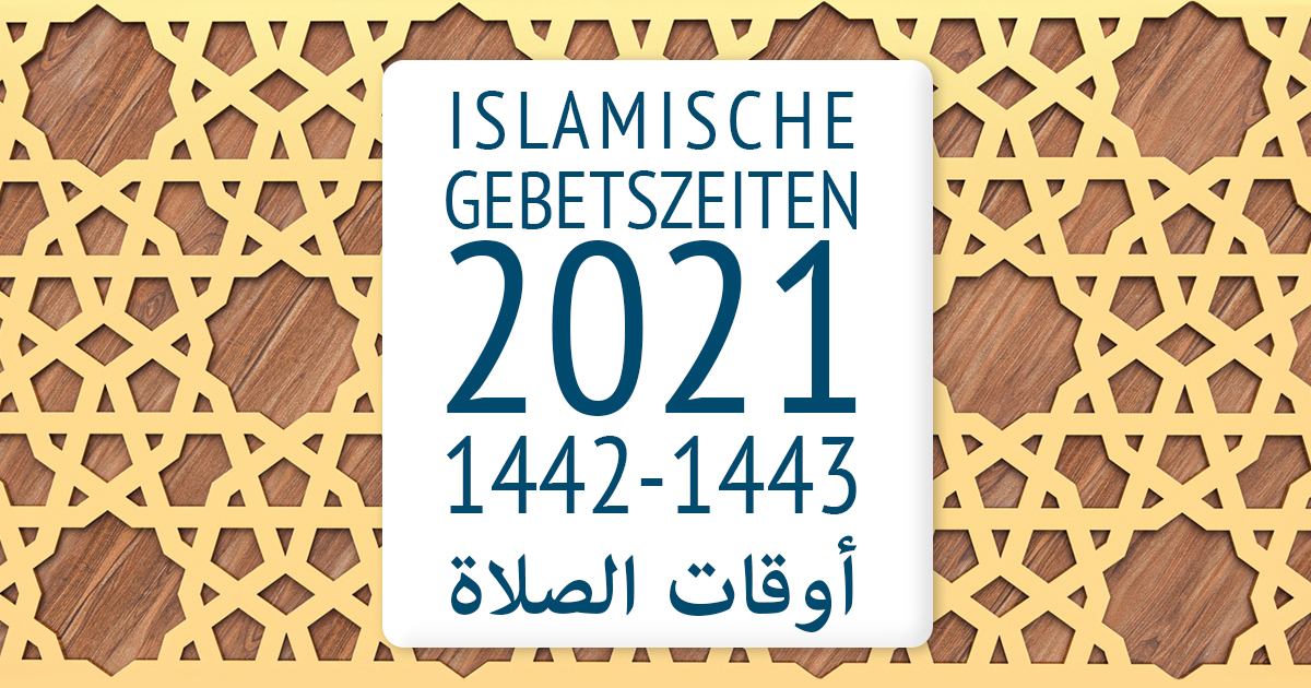Gebetszeiten2021